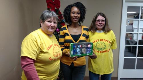 2014 Christmas Present Collection to Benefit the Happy Helpers for the Homeless