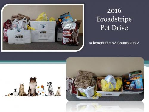 2016 Broadstripe Pet Drive