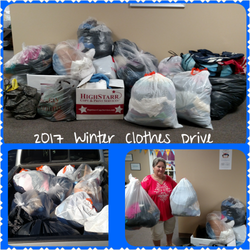 2017 Winter Clothes Drive